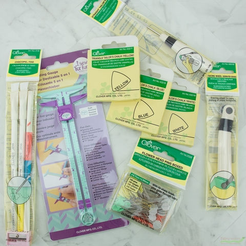 Clover, Triangle Tailor's Chalk Yellow