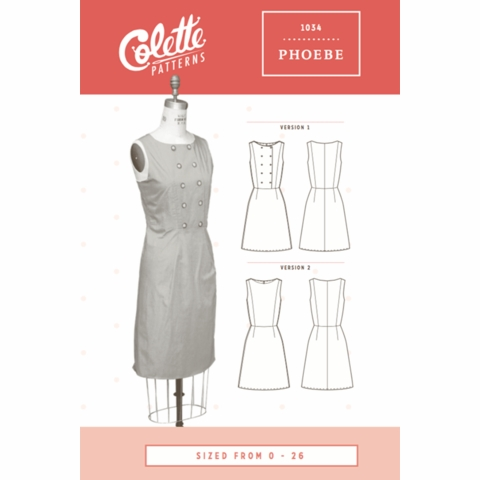 Colette, Sewing Pattern, Phoebe