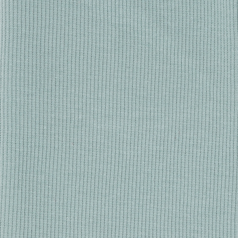 Birch Organic Fabrics, RIBBED KNIT, Mineral