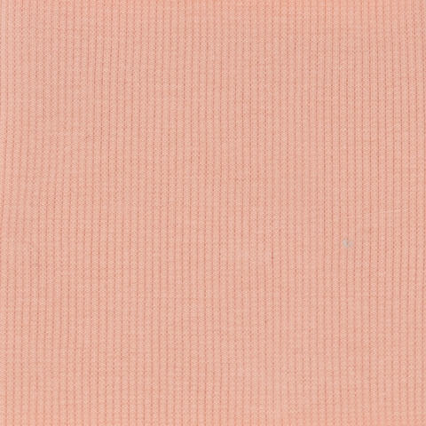 Birch Organic Fabrics, RIBBED KNIT, Quince Blossom