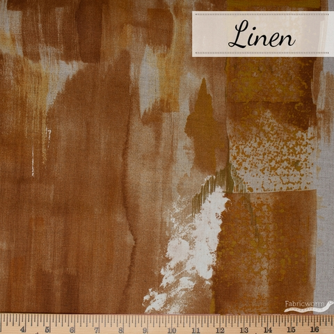 Nani Iro, LINEN, Saison Brown Natural