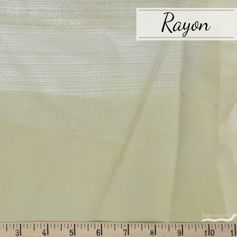 Nani Iro, RAYON, Drawing Colors Taupe Metallic