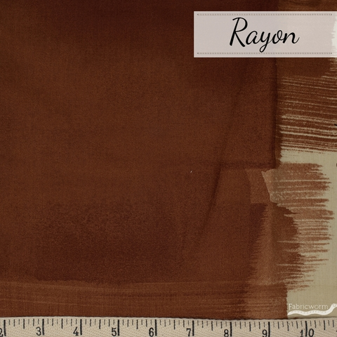 Nani Iro, RAYON, Drawing Colors Umber