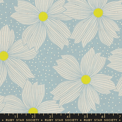 COMING SOON, Sarah Watts for Ruby Star Society, Crescent, Night Bloom Soft Blue