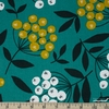 Cosmo Textiles, OXFORD, Button Blooms Teal