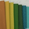 Cotton and Steel, Basics, Autumn Meadow in FAT QUARTERS 7 Total (PRECUT)