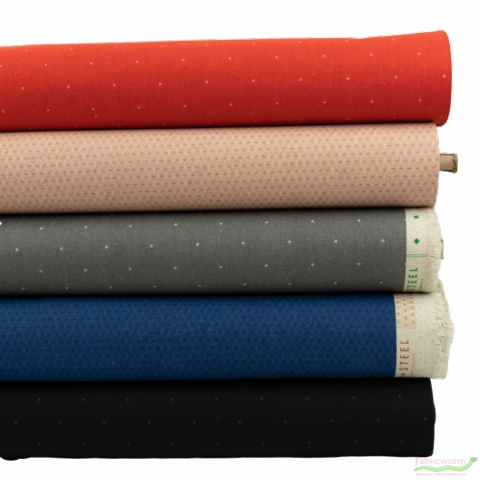 Cotton and Steel, Basics, CANVAS, Universal in HALF YARDS 5 Total