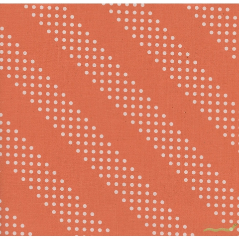 Cotton and Steel, Basics, Dottie Tangerine