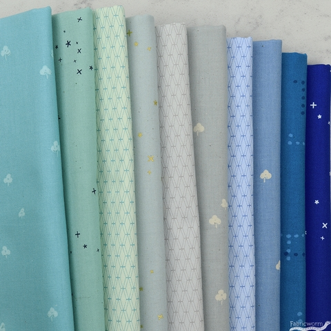 Cotton and Steel, Basics, Siren Song in FAT QUARTERS 10 Total