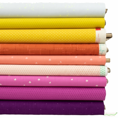 Cotton and Steel, Basics, Sunswept in FAT QUARTERS 9 Total