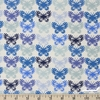 Cotton and Steel, Panorama, Butterflies Blue Ribbon