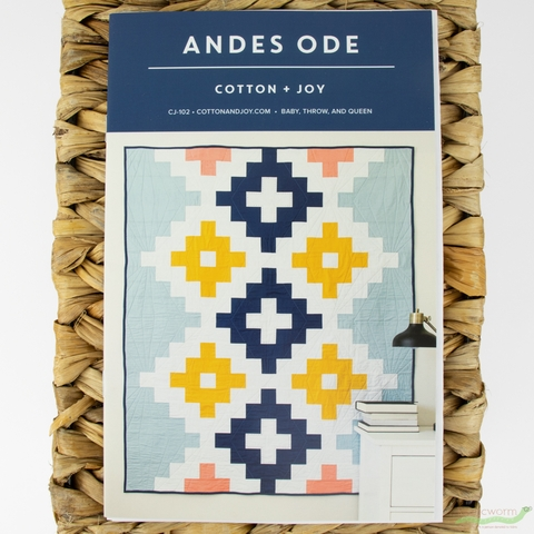 Cotton + Joy, Sewing Pattern, Andes Ode