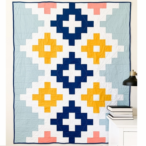 Cotton + Joy, Sewing Pattern, Andes Ode Quilt