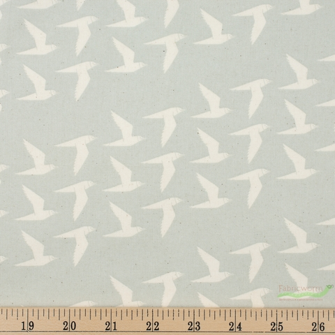 Cotton + Steel Collaborative, Cold Press, Fly Along Linen