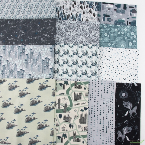 Cotton + Steel Collaborative, Crystal Clear, Take Me to Stonehenge Sky