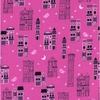 Cotton + Steel Collaborative, Eclipse, Haunted City Pink