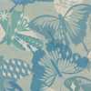 Cotton + Steel Collaborative, Flutter, Flutter Aqua Unbleached