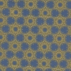 Cotton + Steel Collaborative, Noel, Gold Flakes Blue Metallic