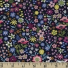 Crystal Manning for Moda, Rosa, Flower Patch Navy