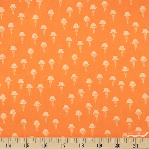 Dana Willard for FIGO, Squeeze, Cones Orange