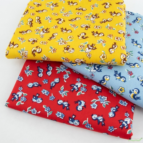Darlene Zimmerman for Robert Kaufman, Naptime Precut Fat Quarter Bundle 6 Total