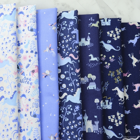 Dear Stella, Avalon, Unicorn Romp Indigo