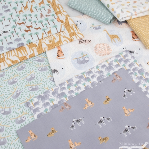 Dear Stella, Born to be Wild in FAT QUARTERS 9 Total