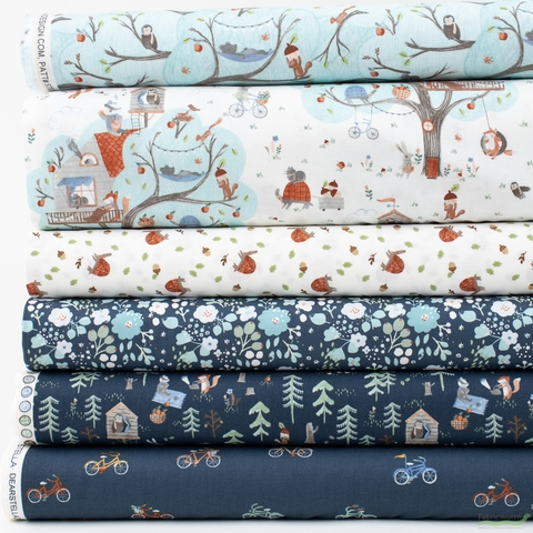 Dear Stella, Treehouse in FAT QUARTERS 6 Total