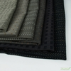 Diamond Textiles, Embroidered Yarn Dyed Wovens, Stitches Black