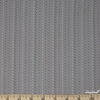 Diamond Textiles, Embroidered Yarn Dyed Wovens, Stitches Light Grey Fat Quarter