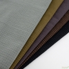 Diamond Textiles, Embroidered Yarn Dyed Wovens, Topstitch Charcoal