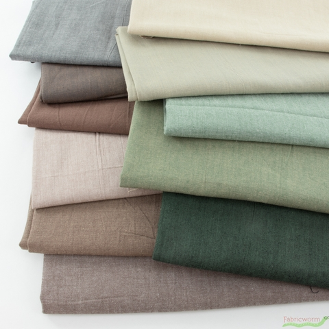Diamond Textiles, Kent Chambray Yarn Dyed Wovens, Solid Clove