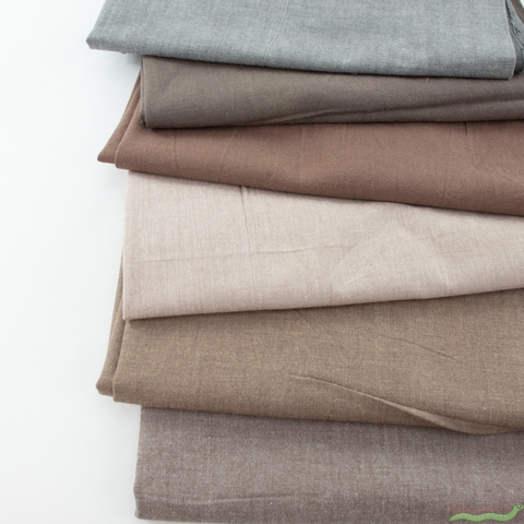 Diamond Textiles, Kent Chambray Yarn Dyed Wovens, Solid Nutmeg