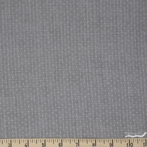 Diamond Textiles, Manchester Yarn Dyed Wovens, Dot Light Grey