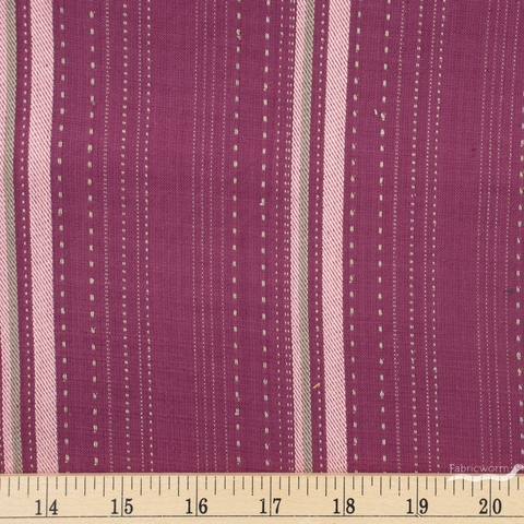 Diamond Textiles, Studio 93 Yarn Dyed Wovens, Weave Stripe Berry
