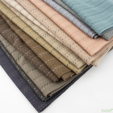Diamond Textiles, Yarn Dyed Wovens, Lucky Stitch in FAT QUARTERS 13 Total