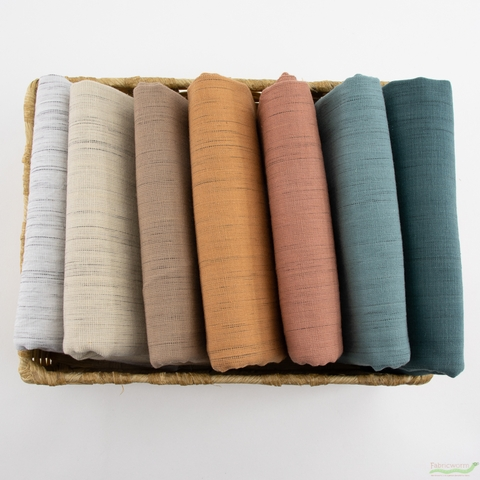 Diamond Textiles, Yarn Dyed Wovens, Tweed Thicket Natural Twine