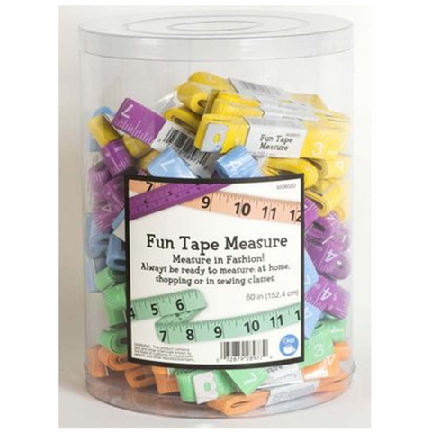 Dritz, Fun Tape Measure Assorted Colors