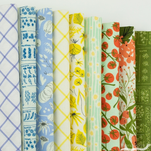 Dylan M. for Windham, Mazy, Bluebell in FAT QUARTERS 9 Total (PRECUT)