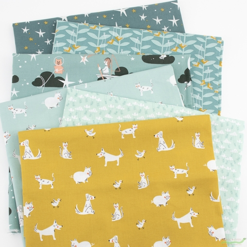 Dylan Mierzwinski for Windham, Playground, Tiffany in FAT QUARTERS 6 Total