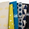 Echino, Winter 2020 Canvas, Basement in FAT QUARTERS 6 Total (PRECUT)