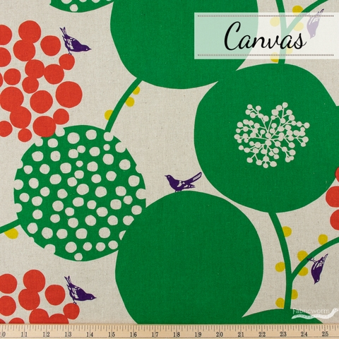 Echino, Winter 2020 Canvas, Big Berry Green