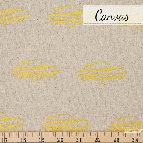 Echino, Winter 2020 Canvas, Car Natural Metallic Gold