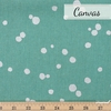 Echino, Winter 2020, Spot Turquoise Metallic Silver Fat Quarter