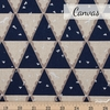 Echino, Winter 2020, Tent Navy Metallic Silver Fat Quarter