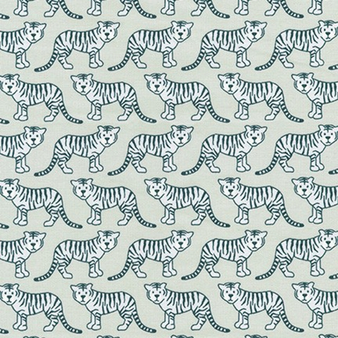 Elizabeth Hartman for Robert Kaufman, Library, Tiny Tigers Silver