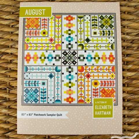 Elizabeth Hartman, Sewing Pattern, August Quilt