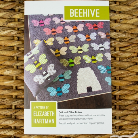 Elizabeth Hartman, Sewing Pattern, Beehive Quilt & Pillow
