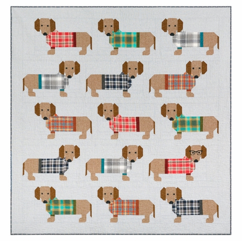 Elizabeth Hartman,Sewing Pattern, Dogs in Sweaters