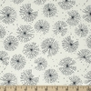 Elizabeth Silver for Camelot Fabrics, Petal Pusher, Blooms Cream